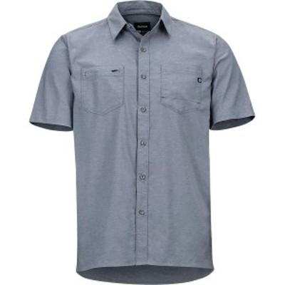 マーモット メンズ シャツ トップス Innesdale Short-Sleeve Shirt Sleet