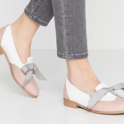 レディース 靴 シューズ MOUSE WORLD - Slip-ons - white/nude