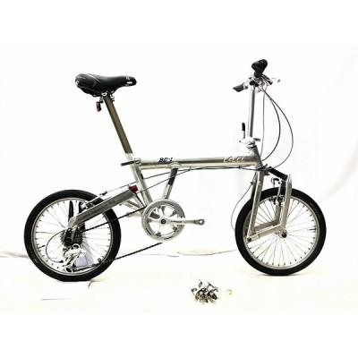 リーズ&ミューラー R&M BD-1カプレオ BD-1(CAPREO) 2004年頃  折り畳み自転車 18インチ シルバー