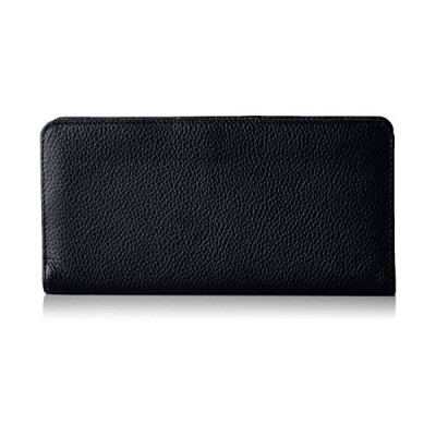 Buxton Women's Roma Double Sided Wallet, Black, One Size並行輸入品 送料無料