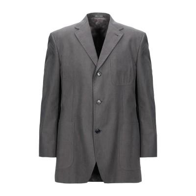 JASPER REED テーラードジャケット 鉛色 52 コットン 100% テーラードジャケット