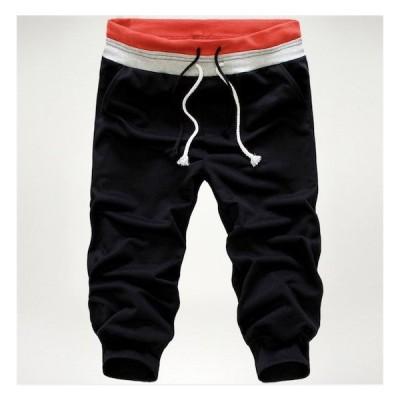 スウェットショートパンツ メンズ ボトムス ハーフパンツ 半ズボン 短パン スウェットパンツ スポーツパンツ イージーパンツ 夏 メンズ 運動 二枚送料無料