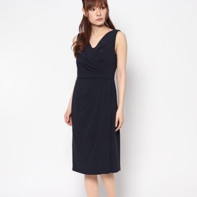 ジュネビビアン Genet Vivien カシュクール風ドレス (ネイビー)