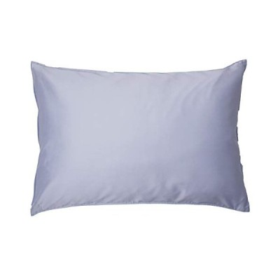 枕カバー ( 43x63cm枕用 ロイヤルブルー) 日本製 コットン100% 高級サテン 超長綿 80番手 330本高密度生地 ダニ通過0%