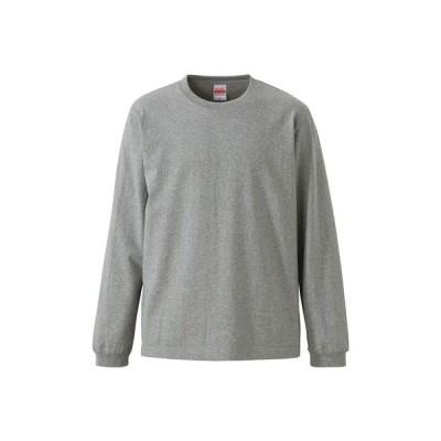 (ユナイテッドアスレ)UnitedAthle オーセンティックスーパーヘヴィーウェイト 7.1オンス 長袖Tシャツ(1.6インチリブ) 426201[ ミックスグレー ]L