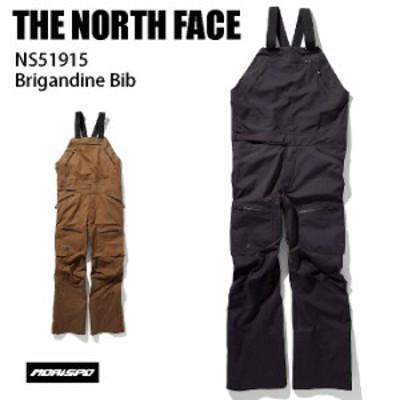 THE NORTH FACE ノースフェイス パンツ メンズ NS51915 BRIGANDINE BIB 19-20 フューチャーライト ウェア