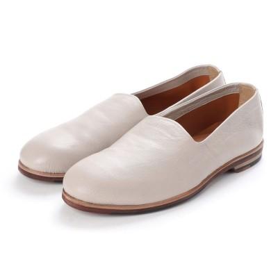 ニル アドミラリ nil admirari Deep cut Opera Shoes (グレー)