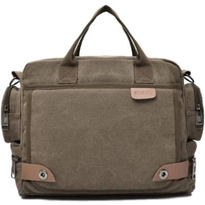 【ALSINA】 ショルダーバッグ 2way ハンドバッグ メッセンジャーバッグ a4 メンズ 大容量 防水 (コーヒー)