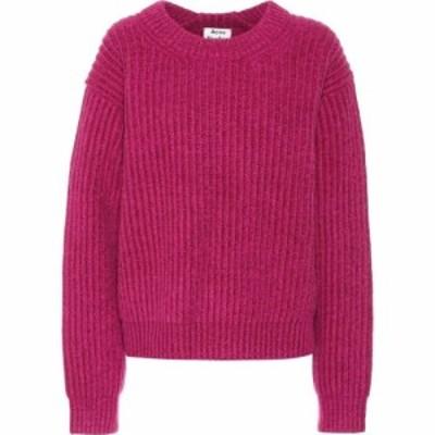 アクネ ストゥディオズ Acne Studios レディース ニット・セーター トップス Wool sweater Magenta Pink