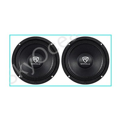 "(2) Rockville RM68PRO 6.5"" 400 Watt 8 Ohm SPL Mid-Bass Midrange Car Speakers【並行輸入品】"