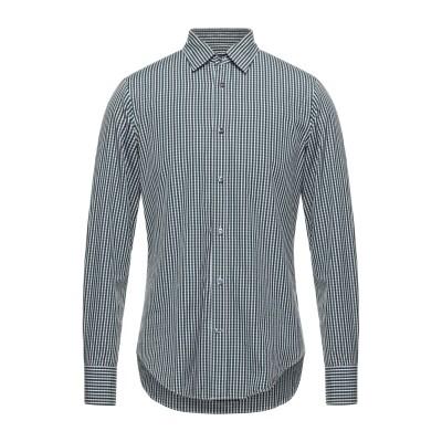 マウロ グリフォーニ MAURO GRIFONI シャツ グリーン 39 コットン 100% シャツ