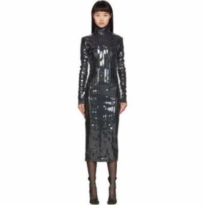 ワイプロジェクト Y/Project レディース ワンピース ワンピース・ドレス black strip turtleneck dress