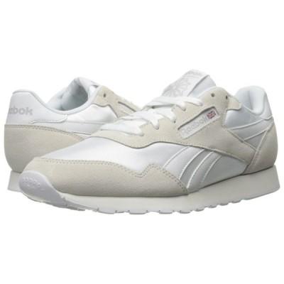 リーボック Reebok メンズ スニーカー シューズ・靴 Royal Nylon White/White/Steel