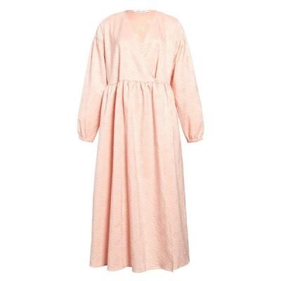 サムソ アンド サムソ レディース ワンピース トップス Jolie Long Sleeve Oversize Midi Dress ROSE FLOWER