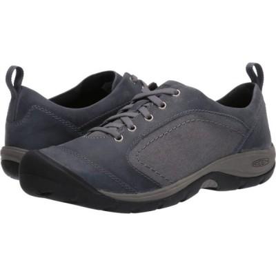キーン KEEN レディース スニーカー シューズ・靴 Presidio II Casual Flint Stone/Steel Grey