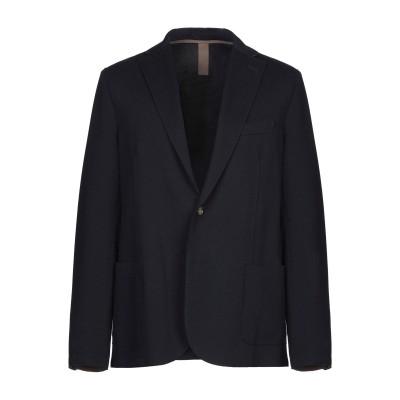 イレブンティ ELEVENTY テーラードジャケット ダークブルー 54 コットン 83% / ナイロン 14% / ポリウレタン 3% / ポリエ