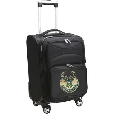 NBA ユニセックス スーツケース・キャリーバッグ バッグ Mojo Spinner Carry On Suitcase Milwaukee Bucks
