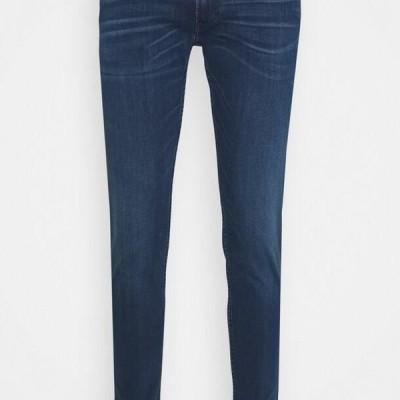 リプレイ メンズ ジーンズ BRONNY - Jeans Tapered Fit - medium blue