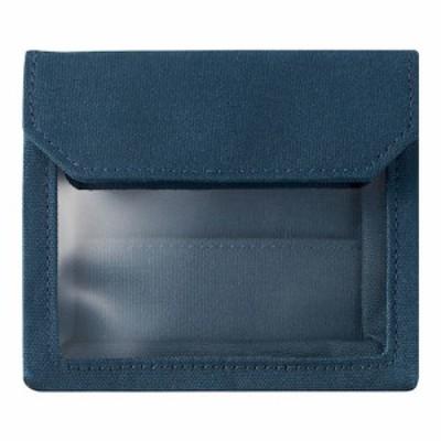 キングジム フラッティ ワークス(FLATTY WORKS) バッグインバッグ カードサイズ 5456 ネイビー│インナーバッグ