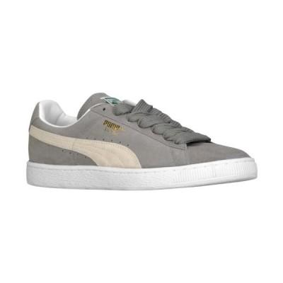 (取寄)プーマ メンズ シューズ プーマ スエード クラシックMen's Shoes PUMA Suede ClassicSteel Gray White