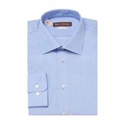 ヒッキーフリーマン Men Clothing Cotton Classic Fit Dress Shirt