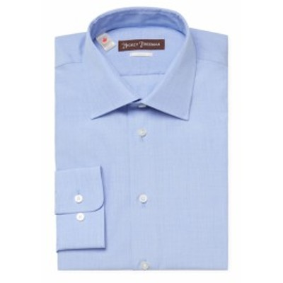 ヒッキーフリーマン Men Clothing Cotton Classic Fit Dress Shirt