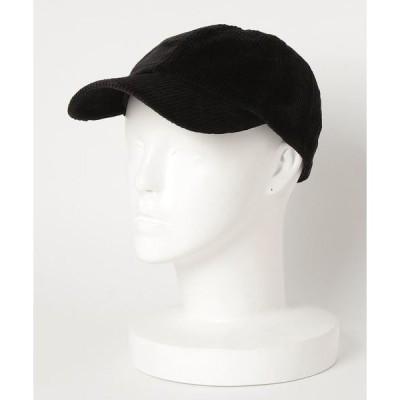 帽子 キャップ コーデュロイローキャップ