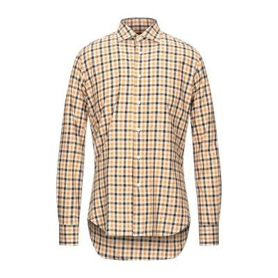 OCTO シャツ キャメル 37 コットン 100% シャツ