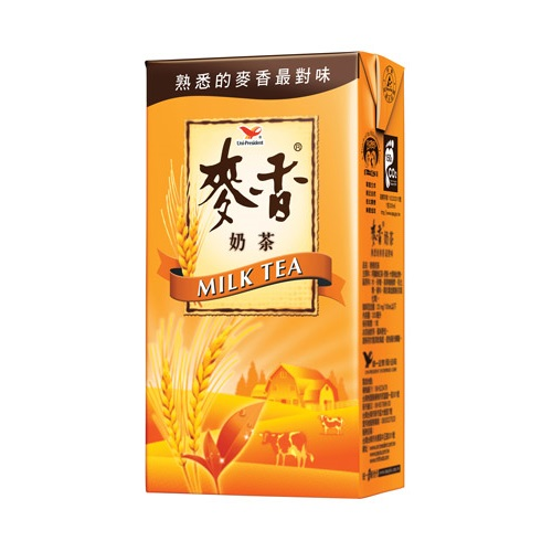統一麥香奶茶TP375ml