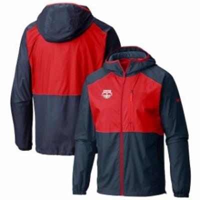 Columbia コロンビア スポーツ用品  Columbia New York Red Bulls Navy Flash Forward Full-Zip Windbreaker Jacket