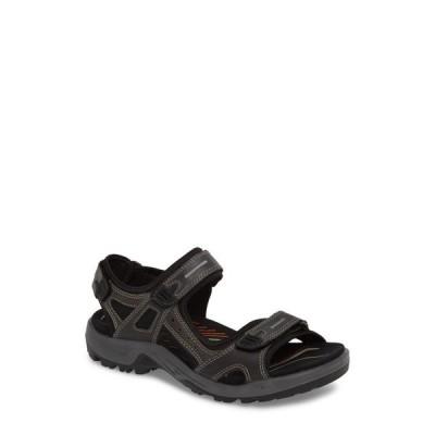 エコー ECCO メンズ サンダル シューズ・靴 'Yucatan' Sandal Marine Leather
