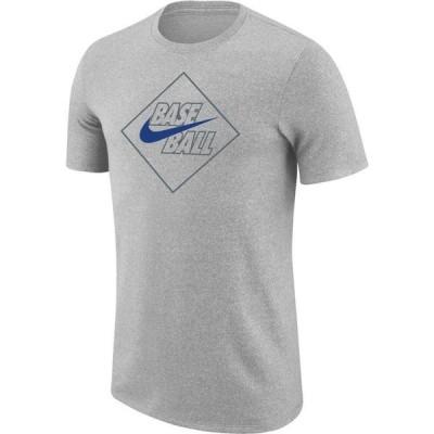 ナイキ Nike メンズ Tシャツ トップス Diamond Marled Short Sleeve T-Shirt Wolf Grey Heather