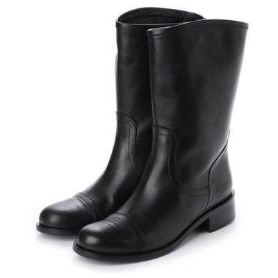 エヌティ NT(NUMBER TWENTY-ONE) ブーツ (BK)