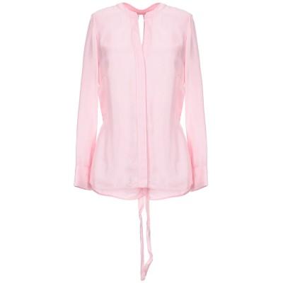 SANDRO シャツ ピンク 1 キュプラ 100% / レーヨン シャツ