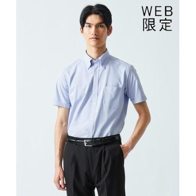 【WEB限定】クールマックス  へリンボン ポロシャツ