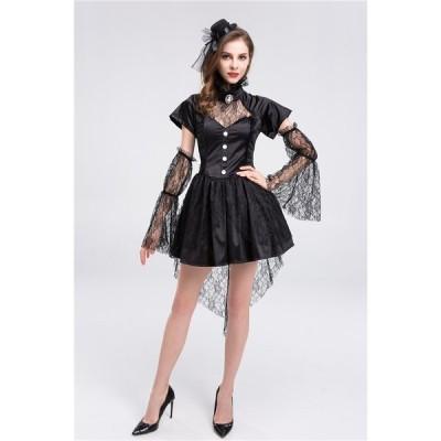 ハロウィン衣装 吸血鬼 ヴァンパイア コスプレ 衣装 仮装 コスチューム 大人 ハロウィン   大人用 女王様 女王 魔女 コスプレ衣装 コス 女性 お化け