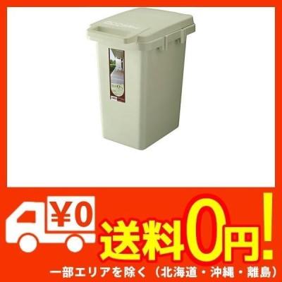 リス ゴミ箱 ワンハンド ハンドル付き ライトグリーン 33L ecoコンテナスタイル2 日本製 CS2-33J