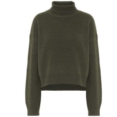 レジーナ ピヨ Rejina Pyo レディース ニット・セーター トップス Lyn cashmere turtleneck sweater Green