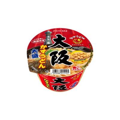 ヤマダイ ニュータッチ 大阪かすうどん 大盛129g(めん90g)  ×12個