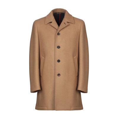 マニュエル リッツ MANUEL RITZ コート キャメル 52 レーヨン 38% / アクリル 30% / ポリエステル 16% / バージンウ