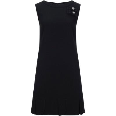 ブルーガール ブルマリン BLUGIRL BLUMARINE ミニワンピース&ドレス ブラック 42 ポリエステル 100% ミニワンピース&ドレス