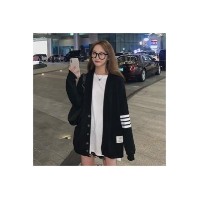 【送料無料】セット 女 秋冬 年 韓国風 シングル列ボタン ゆったりしたセーター ア | 364331_A63997-9401747