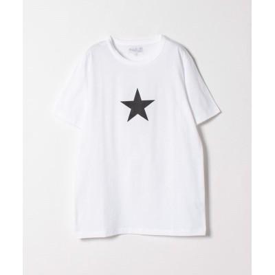 【アニエスベー】 SD02 TS エトワールTシャツ メンズ ホワイト 0 agnes b.