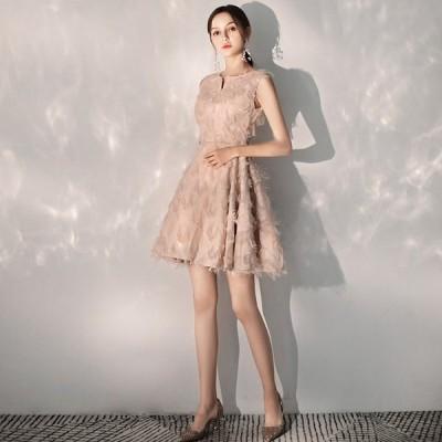 カラードレス ミモレ丈 ミニ丈 結婚式 花嫁 パーティードレス ウェディングドレス ワンピース 二次会 ドレス 演奏会 発表会 大きいサイズ 安い スカート