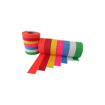 30mm 樹木用識別テープ 1本 森林等に 樹木テープ 7色よりお選び下さい 登山のマーキングにも便利 測量 土木 建築 (赤)