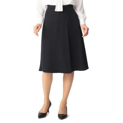 洗える着まわしセットアップ ラップ風フレアスカート
