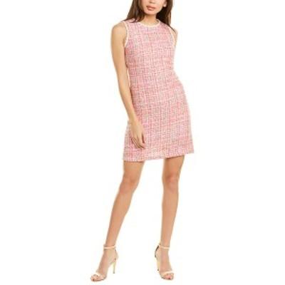 ベッツィジョンソン レディース ワンピース トップス Betsey Johnson Shift Dress pink multicolor