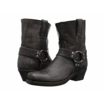 Frye フライ レディース 女性用 シューズ 靴 ブーツ ライダーブーツ Harness 8R Smoke Washed Oiled Vintage【送料無料】