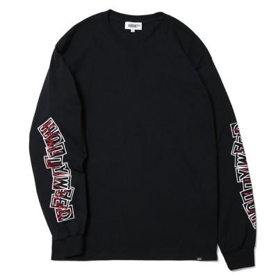 HAIGHT ヘイト HOLLYWEED LS TEE FT.RHS 長袖Tシャツ HT-RH211005 BLACK ブラック