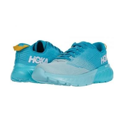 Hoka One One ホカオネオネ レディース 女性用 シューズ 靴 スニーカー 運動靴 Mach 3 - Capri Breeze/Blue Caracao
